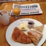 フランスの朝ごはん