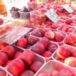 桃の季節と桃モッツァレラ