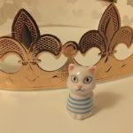 ガレット・デ・ロワに隠されていた猫
