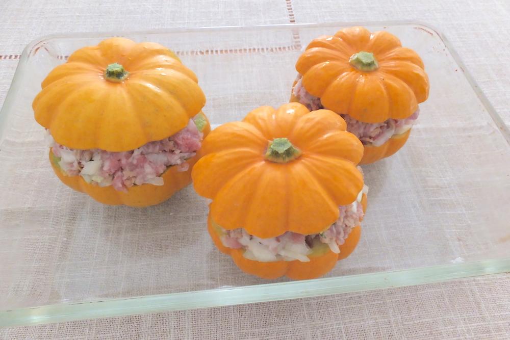 ミニかぼちゃ ファルシ
